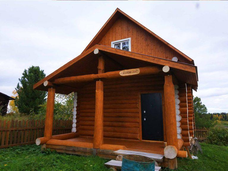 """Бревенчатый дом по проекту """"Кедровка"""""""